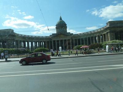 street scene, from bus