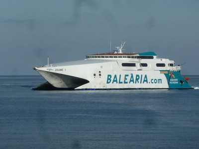 example of the ferries that travel from Ceuta to Algeciras