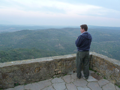 Charles at Castellar de la Frontera