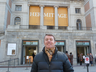 Colin at Museo Nacional del Prado