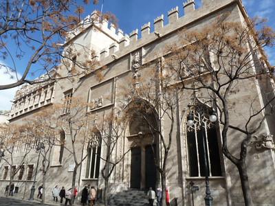 La Lonja - 15th century silk and commodity exchange