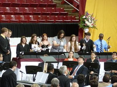 Sunday, Day 1: baccalaureate mass  B C Bells
