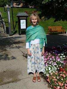 Anne on campus