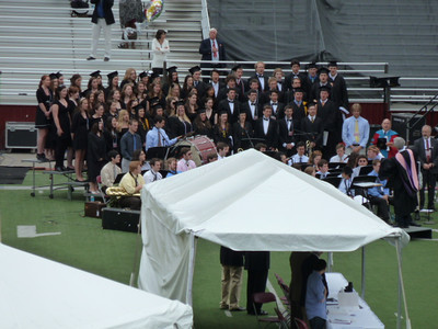 Monday, Day 2: Commencement of all the schools at Boston College (morning)