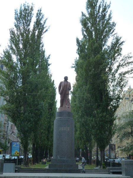 Lenin on Shevchenka St.