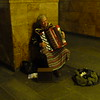 "Kyiv Metro<br /> I usually don't like accordions, but this guy was playing ""Puttin' on the Ritz"" and it gave me a smile."