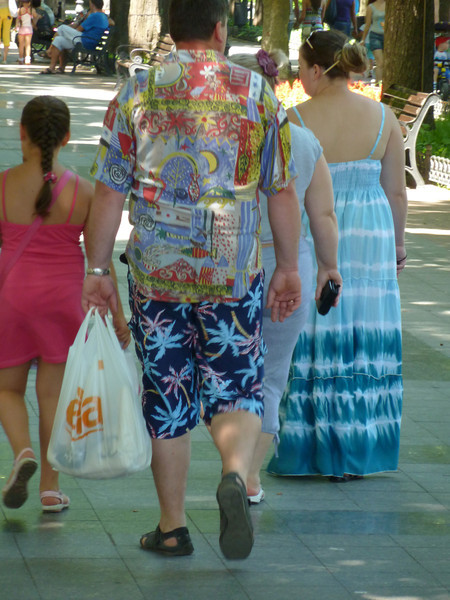 Sir, I am with the Fashion Police and you are UNDER ARREST.