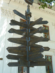 destinations from Odessa
