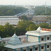 general view of Madurai from Hotel Supreme rooftop