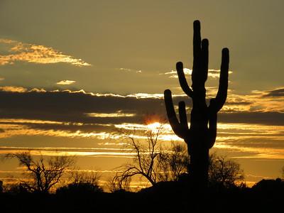 Arizona Superstition Mountains