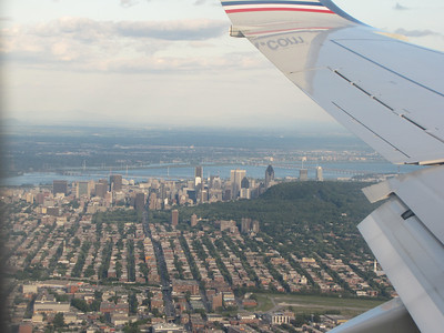 Montreal Canada Aerial View