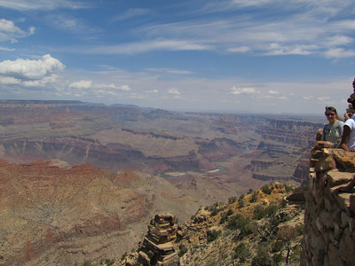 View from Tower at Grand Canyon