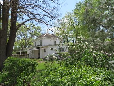 IMG_9080  Eisenhower Home  Side Garden Abilene Kansas