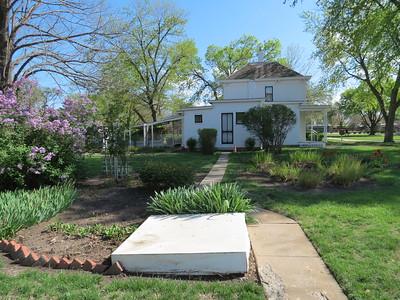IMG_9113  Eisenhower Home Backyard Garden Abilene Kansas