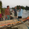 These fellows took us for a ride in their outrigger.