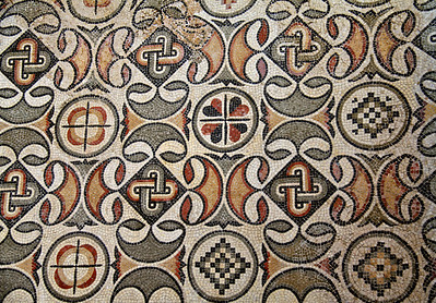 Mosaic from Church of Valentinian