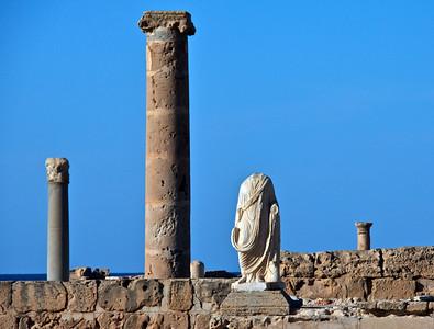 Flavius Fountain and Statue