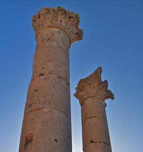 Upper Sections of Basilica Apuleus Columns