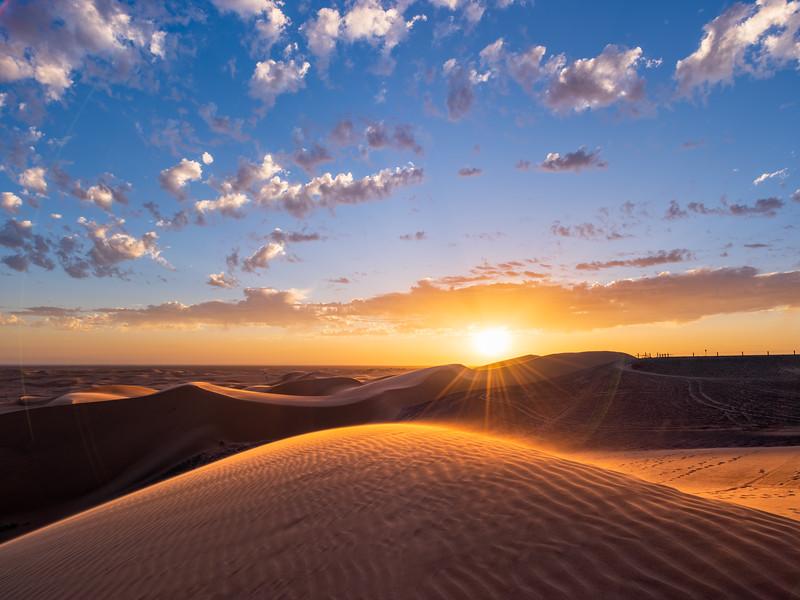 Sunset View Atop Glamis Dune