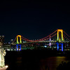 Rainbow Bridge and Statue of Liberty | Odaiba , Japan
