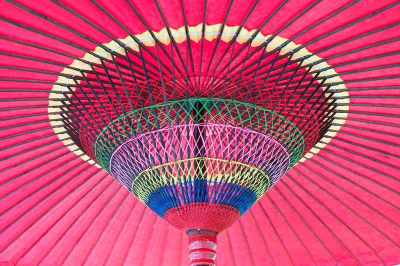 Colorful Umbrella | Japan