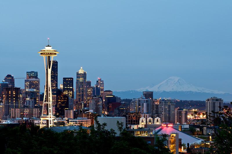 """Where's the rain Seattle?"" | Washington, USA"