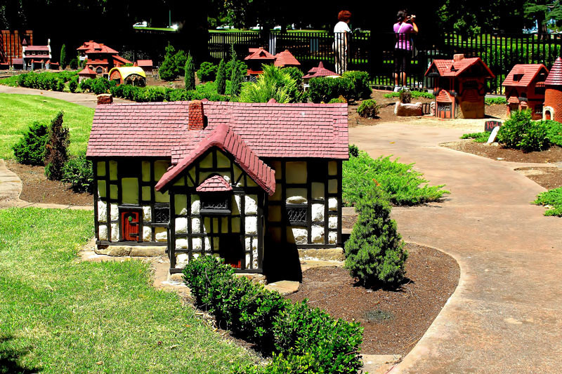 Miniature Victorian Village