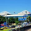 The Rod Laver Arena complex.