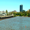 The Yarra River by Federation Square.