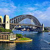 Dawes Point and Park hyatt Hotel.