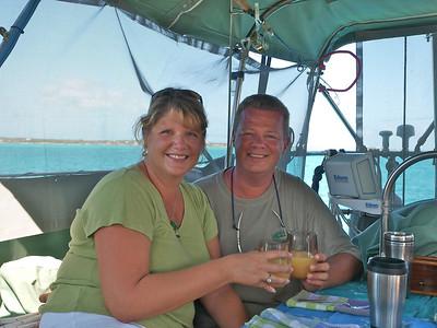 Bahamas 2011: Stacy Foree's 40th Birthday, Stocking Island, Exumas