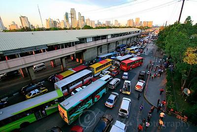 Time lapse of Manila traffic