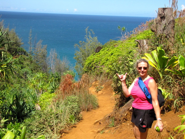 The verdict is in... Nancy loves the Kalalau Trail and the Na Pali Coast in Kauai, Hawaii :-)