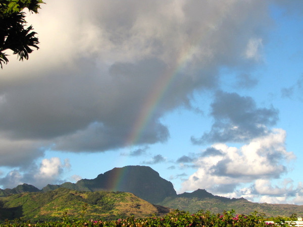 What a great way to end off a great day... with a rainbow. :-)