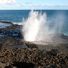 After the river it was time to visit Kauai's famous Spouting Horn... cool! :-)