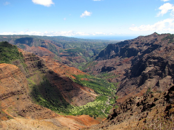 "...known as the ""Grand Canyon of the Pacific"" the views there are stunning!! :-) Click below to see some ""Live"" views: <a href=""http://nancyandshawnpower.com/waimea-canyon-kalalau-valley-lookout-kauai-hawaii/"">http://nancyandshawnpower.com/waimea-canyon-kalalau-valley-lookout-kauai-hawaii/</a>"