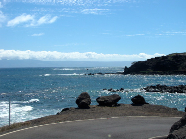 It truly was a fun, scenic drive today... if ever on Molokai make sure to add it to your itinerary! Okay, we're off to Maui... talk to you from there.