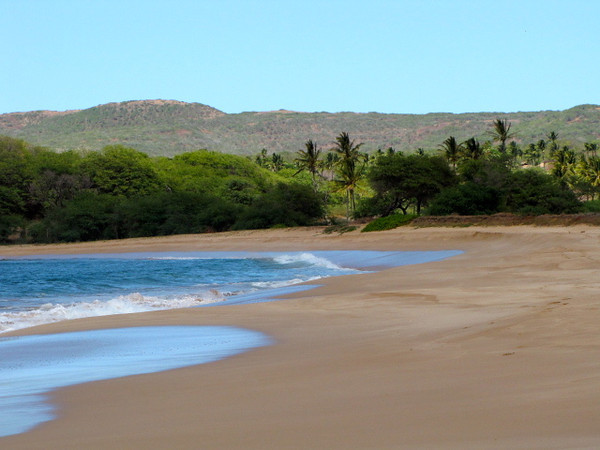 "There's Papohaku Beach on Molokai... one of the biggest white sand beaches in all of Hawaii at 3 miles long. Click below to see our Blog Post about our ""Exclusive"" time there: <a href=""http://nancyandshawnpower.com/papohaku-beach-in-molokai/"">http://nancyandshawnpower.com/papohaku-beach-in-molokai/</a>"