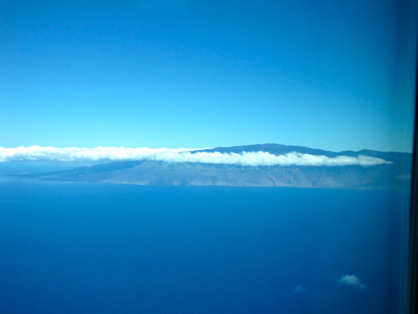 There's the beautiful island of Maui in Hawaii... from Kona we had a quick stop here before hitting Molokai but the stop over wasn't minded as we got an aerial tour of Maui along the way! :-)