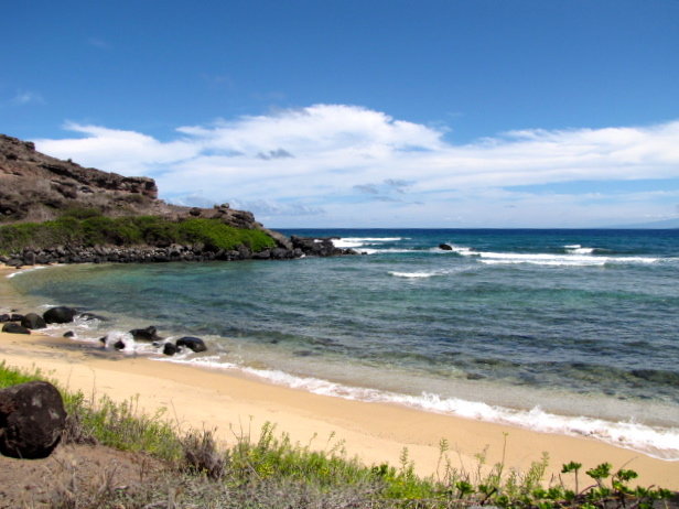 During our drive we also saw pretty beaches & waves crashing in.