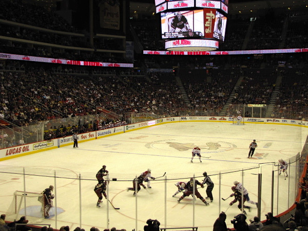 Another thing we did in Phoenix was watched the Phoenix Coyotes vs Montreal Canadiens NHL hockey game... Montreal won 3-2 in overtime... great game!! Well, we had a great time visiting Phoenix & Scottsdale this week & will surely be back in the future!