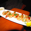 You literally have your own waitress who serves you dinner at the movie... nice! The Shrimp Diablo Cocktail, yummy!! :-)