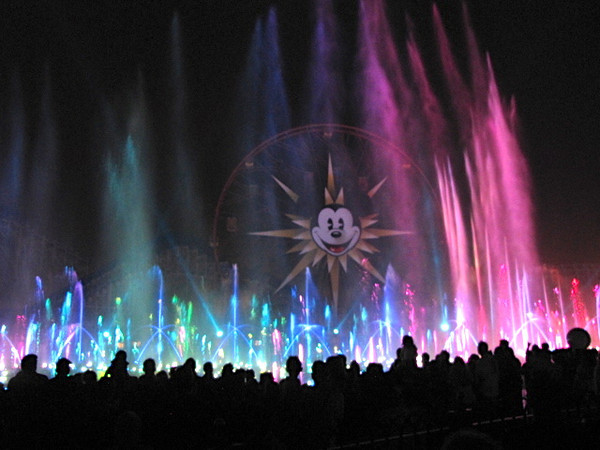 """The """"World of Color"""" show was pretty amazing... it's like the fountains at Bellagio (but """"on steroids"""" :-)) meets Disney's greatest movie moments with an awesome soundtrack, lights and laser show added on!!"""