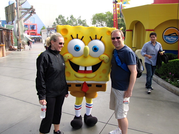 """""""SpongeBob"""" wasn't scary but he sure was funny! :-)"""