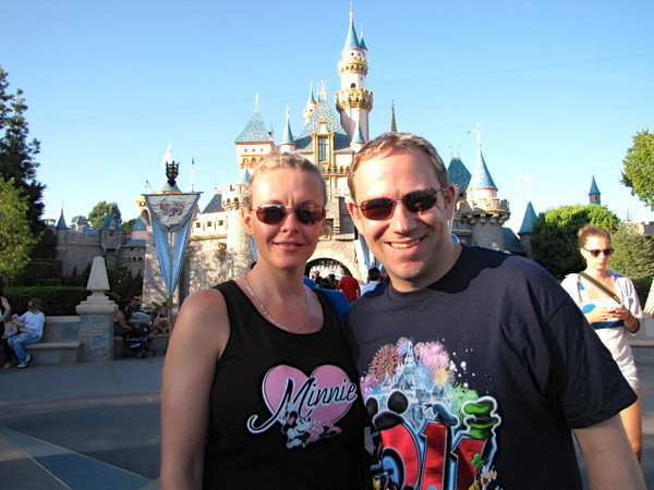 Bet you know that famous castle behind us! :-)