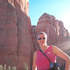 Tank-tops and sunshine in late October... Nancy's definitely loving the AZ weather! :-)