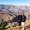 "While in Sedona we also visited the Grand Canyon for the first time... there we are enjoying our 1st views of it... awesome!! Check out our full blog post of our experience there at: <a href=""http://nancyandshawnpower.com/our-grand-canyon-experience/"">http://nancyandshawnpower.com/our-grand-canyon-experience/</a>"