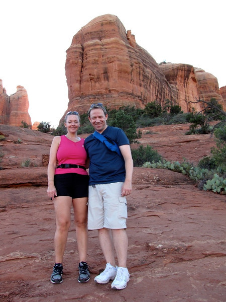 There's one Happy couple enjoying their time in Sedona, Arizona! ;-)