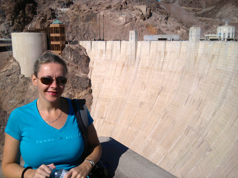 We made a stop at the Hoover Dam on our way from Las Vegas to Sedona, Arizona... very cool!!