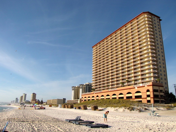"There's our Oceanside Resort where we stayed at a Beautiful 3 Bedroom/2Bathroom Condo in Panama City Beach, Florida. We paid $2000 less then Travelocity's lowest guaranteed price? Click below to see all the details of the resort & of our savings and learn how you can get savings like this on all your vacations too! <a href=""http://nancyandshawnpower.com/sunrise-beach-resort-review-panama-city-beach-florida/"">http://nancyandshawnpower.com/sunrise-beach-resort-review-panama-city-beach-florida/</a>"